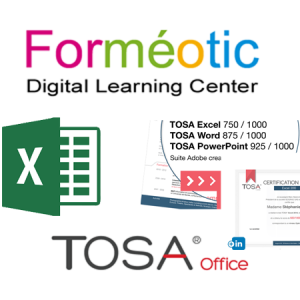 Coupon de certification TOSA®  Excel à distance