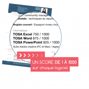 Evaluation & Certification Digital TOSA® à distance
