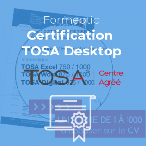 Certification TOSA Office