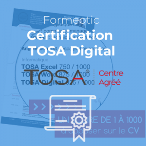 Certification TOSA Digital