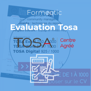 Evaluation(s) Tosa à distance