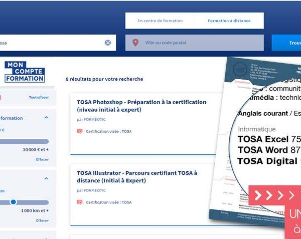 Mon compte formation, certification des formations